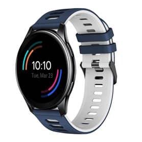 Twin Sport armbånd OnePlus Watch 46mm - Blå/hvit