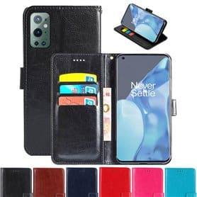 Lommebokdeksel 3-kort OnePlus 9 Pro