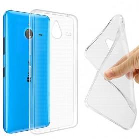 Microsoft Lumia 640XL silikon må være gjennomsiktig