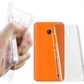 Nokia Lumia 630/635 silikon må være gjennomsiktig