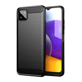 Børstet silikondeksel Samsung Galaxy A22 5G