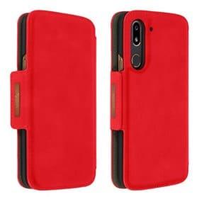 Doro 8080 lommebokdeksel - Rød