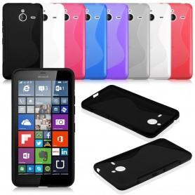 S Line silikonskall MS Lumia 640XL