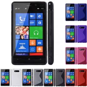 S Line silikonetui til Nokia Lumia 820