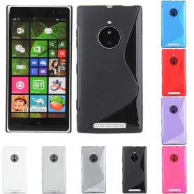 S Line silikonetui til Nokia Lumia 830