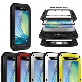 LOVE MER Powerful Samsung Galaxy A7 2015 beskyttelsesbeskyttelse av metall