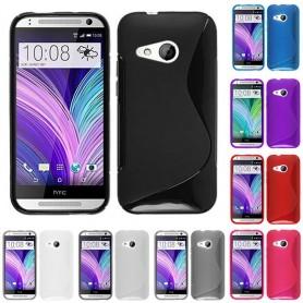 S Line silikonetui til HTC ONE M8 Mini