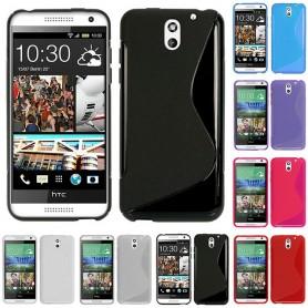 S Line silikonetui til HTC Desire 610