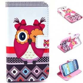 Mobil lommebok Uggla Galaxy S3
