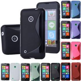 S Line silikonetui til Nokia Lumia 530