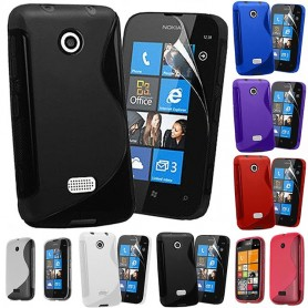S Line silikonetui til Nokia Lumia 510