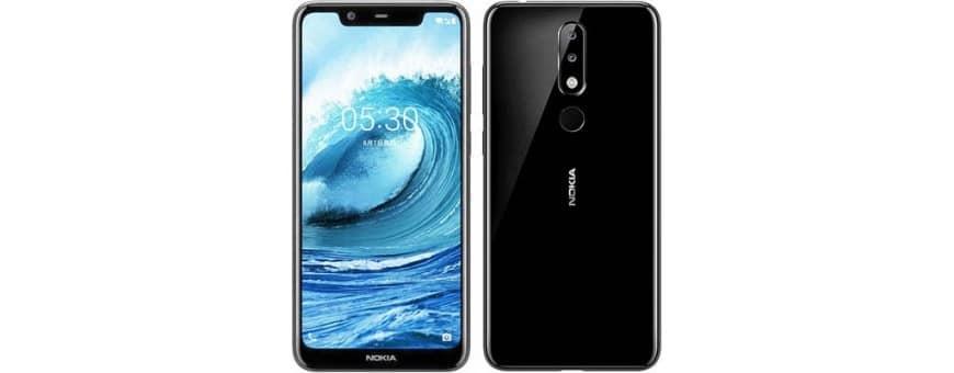 Kjøp mobilskall og beskyttelse for Nokia 5.1 Plus på CaseOnline.se
