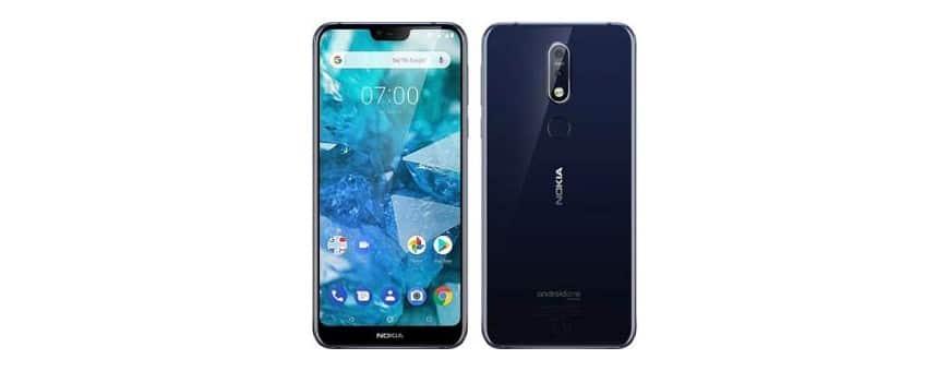 Kjøp mobilt skall og deksel til Nokia 7.1 Plus på CaseOnline.se